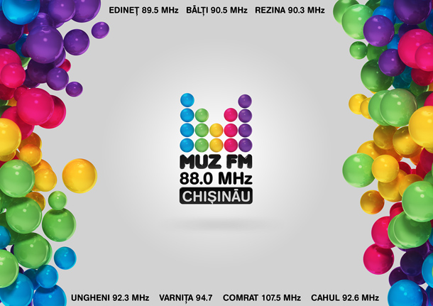 MUZ FM, lansarea unui nou post de radio! WE LIKE MUZIC!