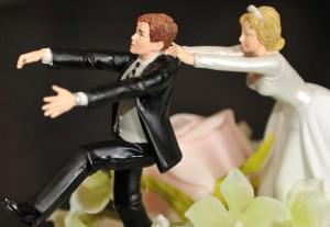 La nuntă…